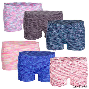 New Seamless for no line boyshort cut Panty Bottom Underwear Short # 83047