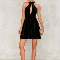 Angels Forever Halter Dress