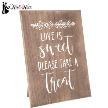 Please Take A Treat Wood Decor | Hobby Lobby | 1598366