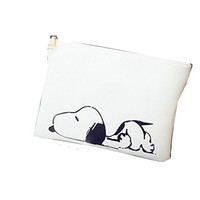 Snoopy Clutch/ Shoulder Bag , Purse with Zipper