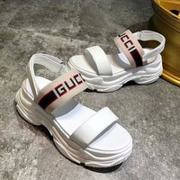 Gucci Women Fashion Simple Casual Sandals Shoes