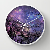 A Beautiful Evening  Wall Clock by Oksana's Art