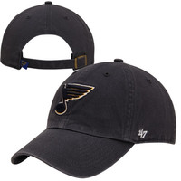 47 Brand St. Louis Blues Clean Up Adjustable Hat - Navy Blue
