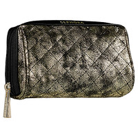 """SEPHORA COLLECTION The Escaper - Small Cosmetic Bag - Gold Star (3.30""""H x  5.90""""W x 2.75""""D)"""