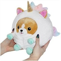 Squishable Undercover Corgi in Unicorn 7""