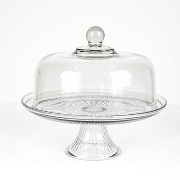 Vintage Cake Stand With Dome Lid / Wedding Gift / Wedding Cake  sc 1 st  Wanelo & Best Vintage Cake Stand With Dome Products on Wanelo