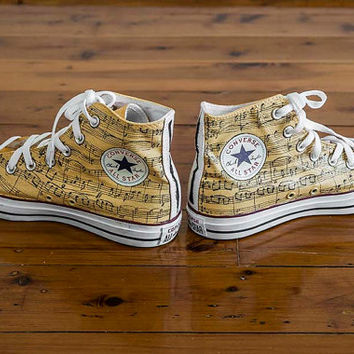 Custom Converse Shoes - Music