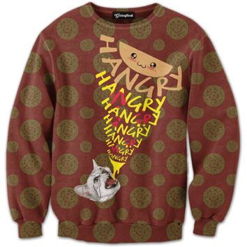 Hangry Cat Crewneck