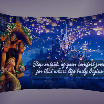 "Tangled Disney Quotes Custom Pillow Case 16""x24"" Limited Edition"