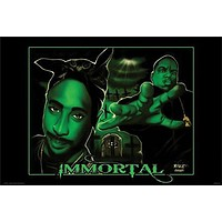 IMMORTAL POSTER 2Pac - Tupac RARE HOT NEW 24x36