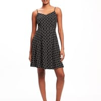 Fit & Flare Cami Dress for Women | Old Navy