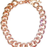 Rose Gold Chain Necklace - My Jewel Candy