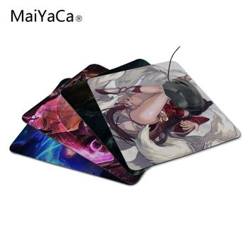MaiYaCa Unique Design New Anti-Slip PC Cartoon Anime Laptop League of Legends Mouse Pad Mat Me Pad for Optal