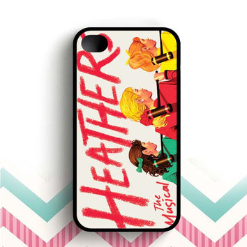 HEATHERS BROADWAY MUSICAL ART  iPhone 4 and 4s case