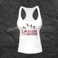 imagine dragons  tank top shirt , T shirt, T shirt Girl, T shirt Mens, Funny T shirt