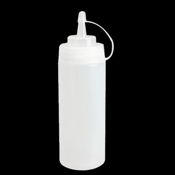 Kitchen  Accessories Plastic Squeeze Bottle Dispenser 8oz for Sauce Vinegar Oil Ketchup Cookling tools