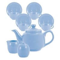 Amsterdam Tea Set - 6 Cup - Powder Blue