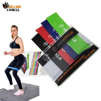 Pro'circle Resistance Band Latex Gym Strength Training Rubber Bands