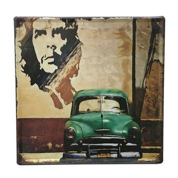 Bar Cafes Coffee Shop Wall Hanging Decoration Iron 3027