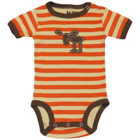 Stripey Moose Baby One Piece