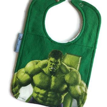Incredible Hulk Bib Super Hero Baby Gift