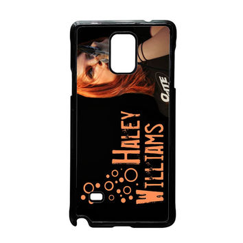 Hayley Williams Paramore Celebrity Samsung Galaxy Note 4 Case