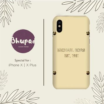 MICHAEL KORS VINTAGE IPHONE X
