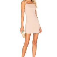 by the way. Petra Backless Mini Dress in Blush | REVOLVE