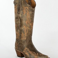 Tanner Mark Embroidered Cowboy Boot