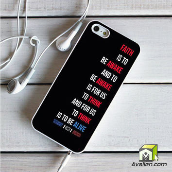 Twenty One Pilots 3 iPhone 5|5S Case by Avallen