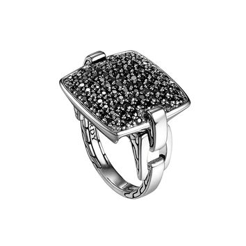 Pave Black Sapphire Ring - John Hardy - Silver (7)