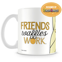 Friends Waffles Work Mug