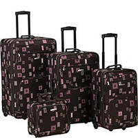 Rockland Luggage 4 Piece Expandable Luggage Set - eBags.com