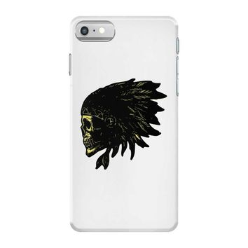 indian skull native american iPhone 7 Case
