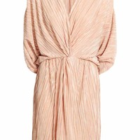 Pleated dress - Powder - Ladies | H&M GB