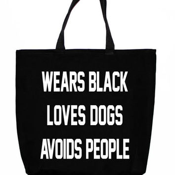 Black is the New Black Tote