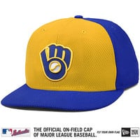 Milwaukee Brewers Authentic Collection Diamond Era 59FIFTY Alternate Cap - MLB.com Shop