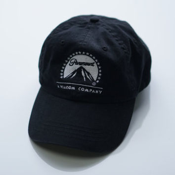 Paramount Dad Hat Vintage Embroidered Strapback
