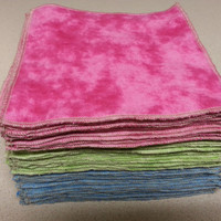 Custom Order: Flannel Family Cloth / Washable TP / Baby Wipes - 18 Single Ply