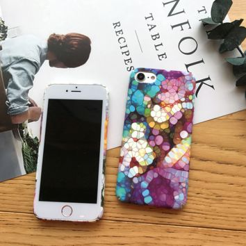 The lights of the busy  iPhone 7 7Plus & iPhone 6 6s Plus Case + Gift Box