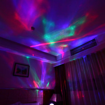 Color Diamond Projection Lamp