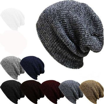 1pcsBrand Bonnet Beanies Knitted Winter Hat Caps Skullies Winter Hats For Women Men Beanie Cap Beanies Cap Gorro Invierno Hombre
