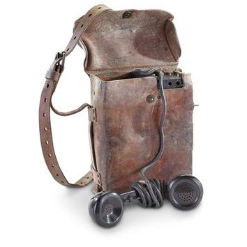 U.S. Military Surplus Phone, WWII Era, Used - 223080, Field Gear at Sportsman's Guide