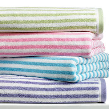 Kassatex Bath Towels, Bambini Lines Collection - Bath Towels - Bed & Bath - Macy's