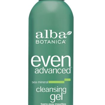 even advanced™ sea mineral cleansing gel | Alba Botanica