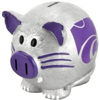Kansas State Wildcats Large Thematic Piggy Bank