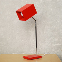 Vintage Kovacs Orange Box Shroud Desk Lamp