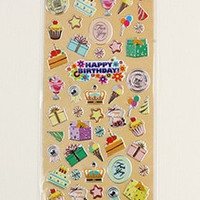 Cake Sticker Sheet