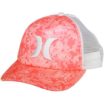 Hurley One and Only YC Trucker Hat - Hyper Orange Resin