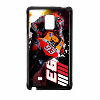 Marc Marquez Repsol Honda Action Samsung Galaxy Note Edge Case